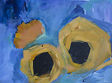Sunflower's Bloom by Jane Robinson (Acrylic Painting)
