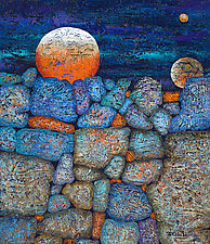 Night and Day by Nancy Eckels (Acrylic Painting)