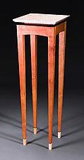 Y2K Pedestal by Bayley Wharton (Wooden Pedestal)