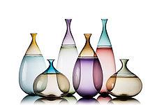 Goccia Vessels by Vetro Vero (Art Glass Vessel)