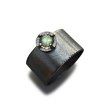 Juju Wonder Labradorite Ring by Jenny Windler (Silver & Stone Ring)