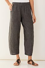 Striped Linen Riviera Pant by Lisa Bayne  (Linen Pant)