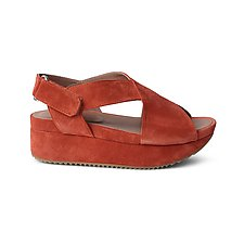 Tulum Suede Sandal by Homers Shoes (Leather Sandal)