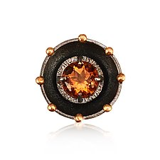 Juju Citrine Cocktail Ring by Jenny Windler (Gold, Silver & Stone Ring)