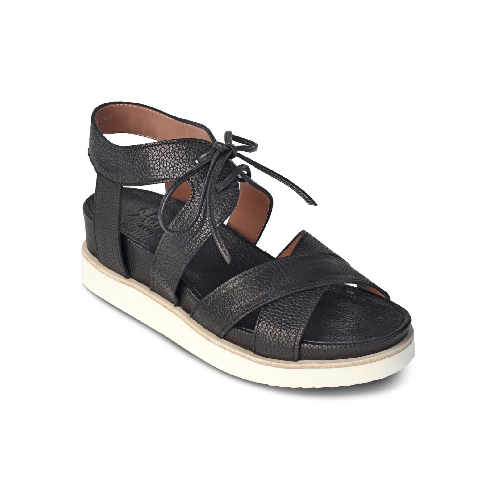 Elba Sandal by Homers Shoes (Leather Sandal) | Artful Home