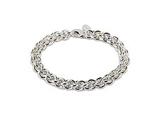 Silver Chain Bracelet by Jamie Santellano (Silver Bracelet)
