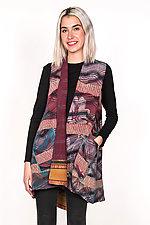 A-Line Vest #1 by Mieko Mintz  (One Size (6-12), Silk & Cotton Vest)