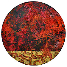 Lunar Eclipse: The Blood Moon by Chin Yuen (Acrylic Painting)