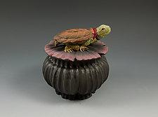 Turtle Box by Nancy Y. Adams (Ceramic Box)
