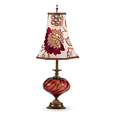 Franny by Susan Kinzig and Caryn Kinzig (Mixed-Media Table Lamp)