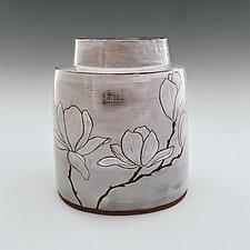 Magnolia Vase II by Whitney Smith (Ceramic Vase)