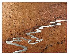 Moon River by Robert Rickard (Metal Wall Sculpture)