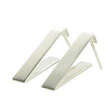Triangle Earrings by Kyla Katz (Silver Earrings)