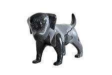 Dog by Locknesters (Polymer Sculpture)