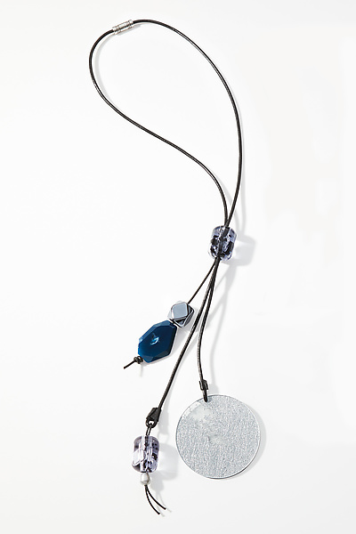 Blue Midnight Mood Necklace