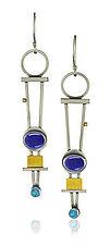 Trellis Earrings by Michele LeVett (Gold, Silver & Stone Earrings)