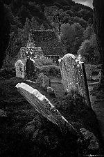 Saint Kevin's Church by Matt Anderson (Black & White Photograph)