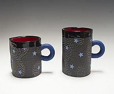 Peristar Mug by Vaughan Nelson (Ceramic Mug)