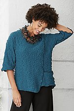 Pucker Angle Top by Noblu   (Knit Top)