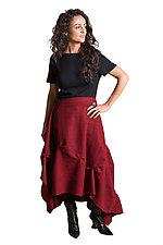Wrap Pinch Skirt/Wrap by Lisa LeMair (Wool Skirt)