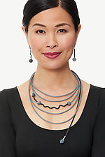 Harmony Necklace by Dagmara Costello (Rubber & Stone Necklace)