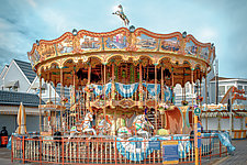 Carousel by Dario Preger (Color Photograph)