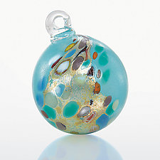 Cascadia by Loretta Eby (Art Glass Ornament)