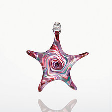 Heavenly Body by Mariel Waddell and Alexi Hunter (Art Glass Ornament)