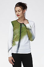 Catalyst Tee by Andrea Geer (Woven Top)