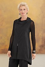 Regent Zip Tunic by Lisa Bayne  (Woven Tunic)