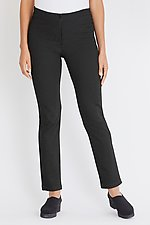 Striped Ponte Boot Cut Pant by F.H. Clothing Co.  (Knit Pant)