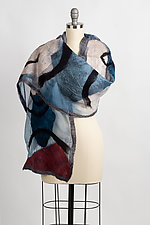 Mila Wrap by Elizabeth Rubidge  (Silk & Wool Wrap)