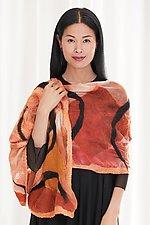 Mila Wrap by Elizabeth Rubidge  (Silk & Wool Wrap)