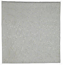 What's White by Judith Larzelere (Fiber Wall Hanging)