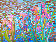 Iris Bliss by Dorothy Fagan (Oil Painting & Giclee Print)