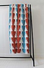 Condor Eco Throw by Karrie Dean (Cotton & Acrylic Blanket)