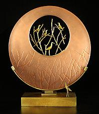 The Sanctuary by Georgia Pozycinski and Joseph Pozycinski (Art Glass & Bronze Sculpture)