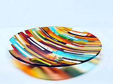 Glow Within by Sarinda Jones (Art Glass Platter)