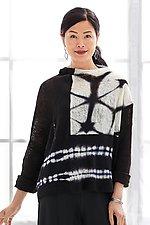 Nocturne Shibori Sweater by Laura Hunter (Knit Sweater)