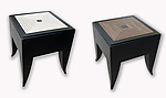 Maze Stool/Table by Kevin Irvin (Wood Side Table)