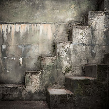 Bunker Abstract Number 20 by Steven Keller (Color Photograph)