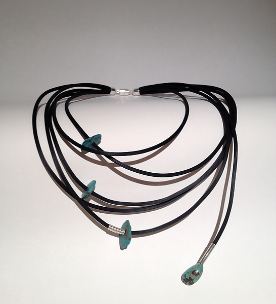 Sassy Necklace and Fun with Turquoise Earrings