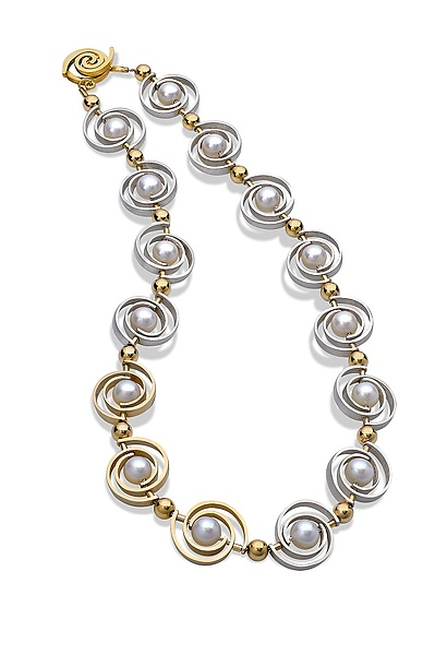 Inspiro Articulating Two-Tone Necklace