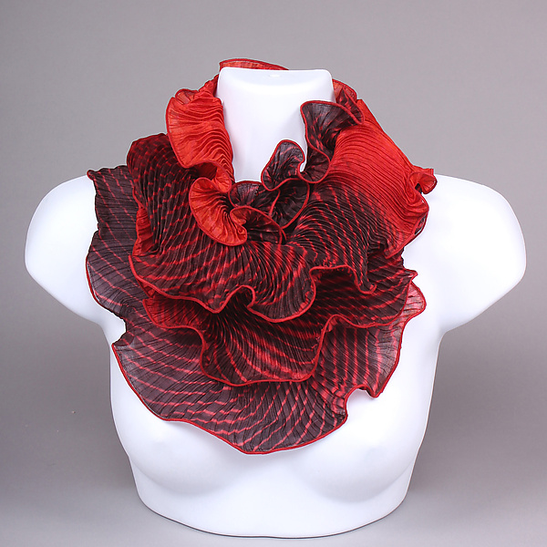 Infinity Scarf in Reds