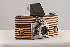 Super Rangefinder by John Shuptrine (Wood Sculpture)