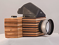 Mamiya Madness by John Shuptrine (Wood Sculpture)