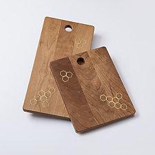 Honeycomb Cheeseboards by Beehive Handmade (Wood Cutting Board)