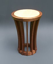 Banyan by Tracy Fiegl (Wood Side Table)