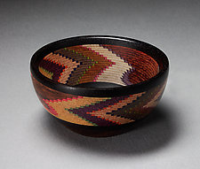Helical Ceremonial Bowl by Martha Collins (Wood Bowl)