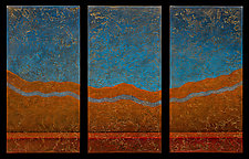 Enchanted Dream Scape 08 by Wolfgang Gersch (Mixed-Media Wall Hanging)